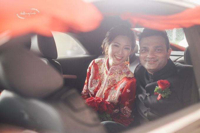 Chinese & Indian Wedding: Sagan & Evelyn by Shuttering Hearts - 013