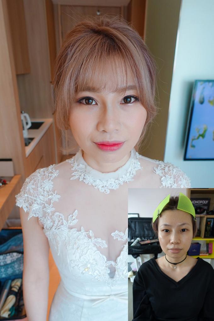 Bride Chloe  by Team Bride SG - Joanna Tay MUA - 001