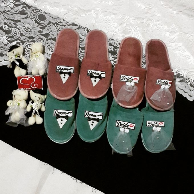 Wedding Slippers by Sweetlovecollection - 033