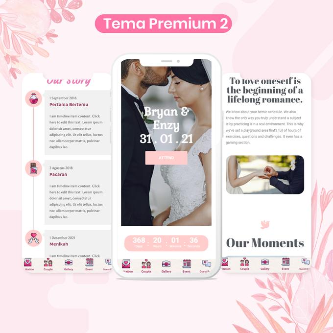 Undangan Pernikahan Digital Website by Ikatan Hati - 002