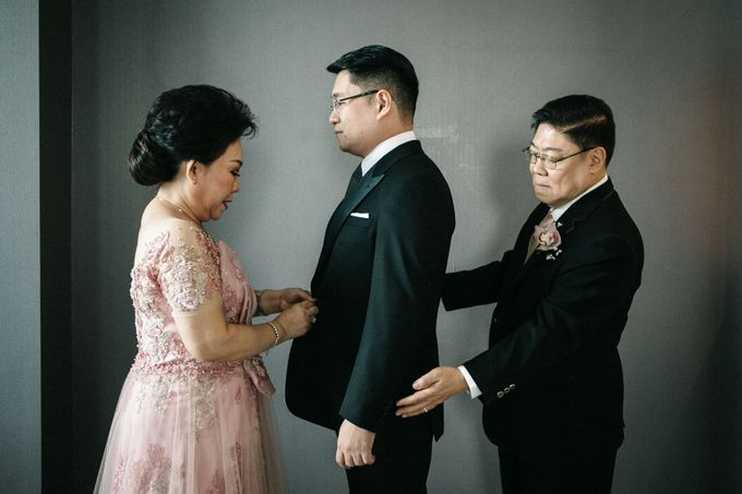Grandeur Wedding of Johan & Catherine 30th June 2019 by DONNY LIEM The Make Up Art - 018