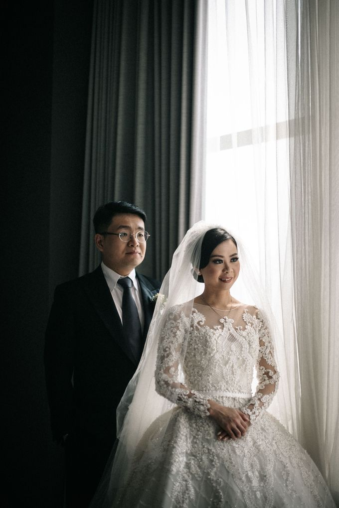 Grandeur Wedding of Johan & Catherine 30th June 2019 by DONNY LIEM The Make Up Art - 030