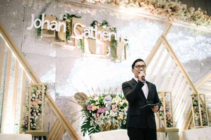 Grandeur Wedding of Johan & Catherine 30th June 2019 by MC Kado Chou - 001