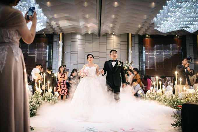 Grandeur Wedding of Johan & Catherine 30th June 2019 by DONNY LIEM The Make Up Art - 037