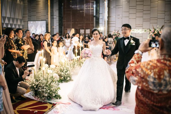 Grandeur Wedding of Johan & Catherine 30th June 2019 by Atham Tailor - 014