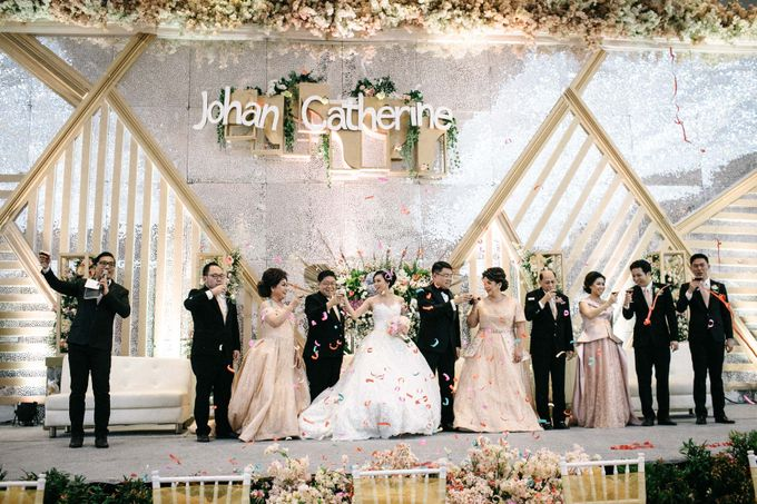 Grandeur Wedding of Johan & Catherine 30th June 2019 by Atham Tailor - 016
