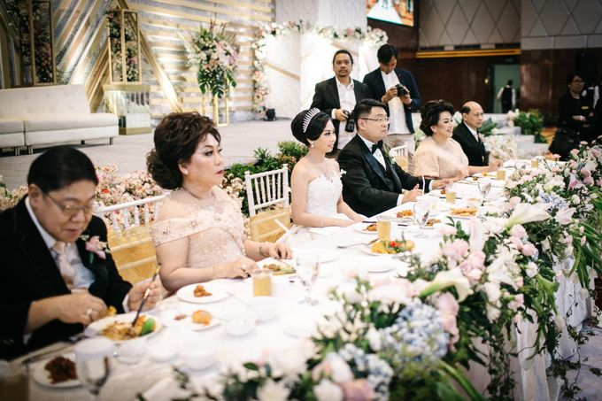 Grandeur Wedding of Johan & Catherine 30th June 2019 by DONNY LIEM The Make Up Art - 045