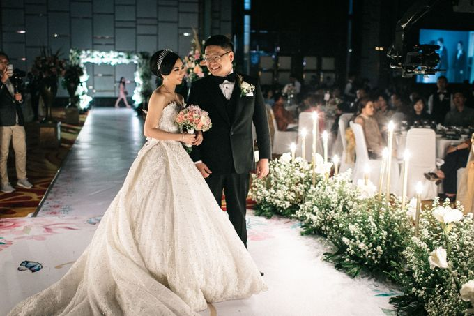 Grandeur Wedding of Johan & Catherine 30th June 2019 by DONNY LIEM The Make Up Art - 047