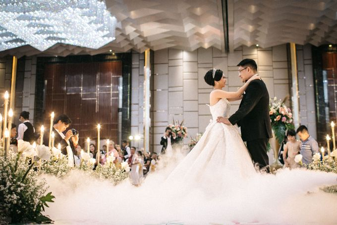 Grandeur Wedding of Johan & Catherine 30th June 2019 by Atham Tailor - 018