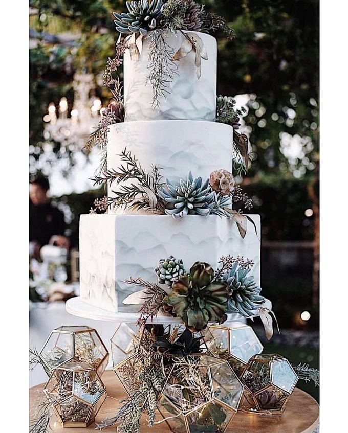 3 layers wedding cakes by LeNovelle Cake - 018