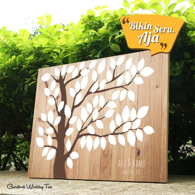 Canvas Guestbook Wedding Artwork ( Tree-01) by Bikinseru.aja - 002