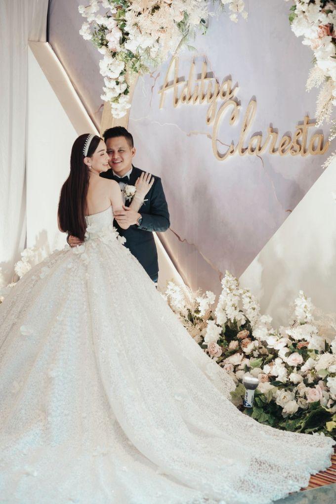Adit & Claresta Wedding at Hilton by PRIDE Organizer - 027