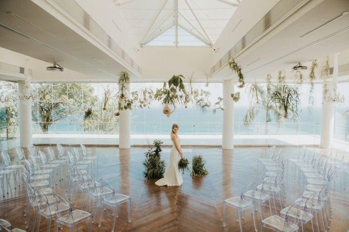 Environmental Friendly Concept Wedding decoration theme by Tirtha Bali - 015
