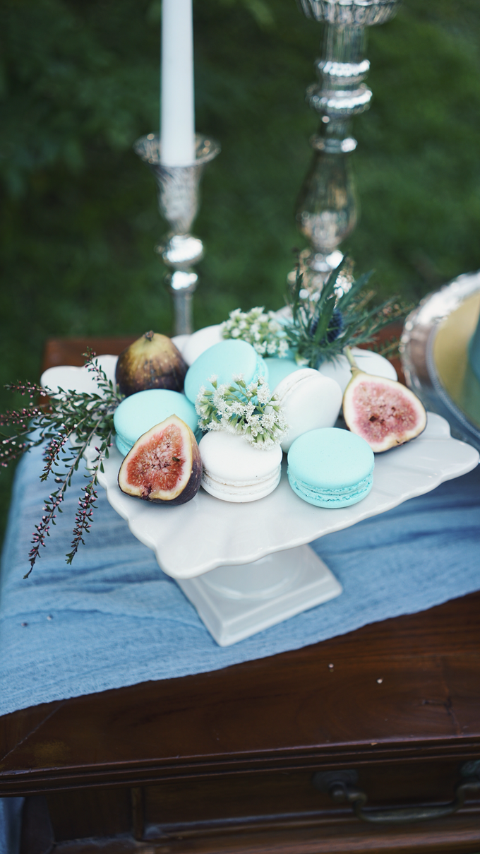 Dusty Blue Vintage by The Dessert Party - 003