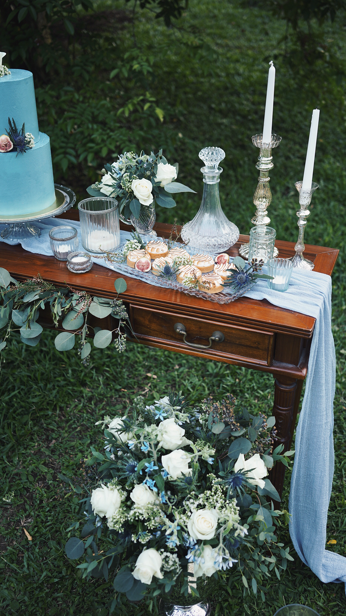 Dusty Blue Vintage by The Dessert Party - 002
