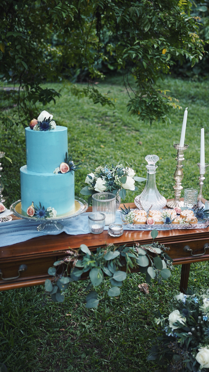 Dusty Blue Vintage by The Dessert Party - 005