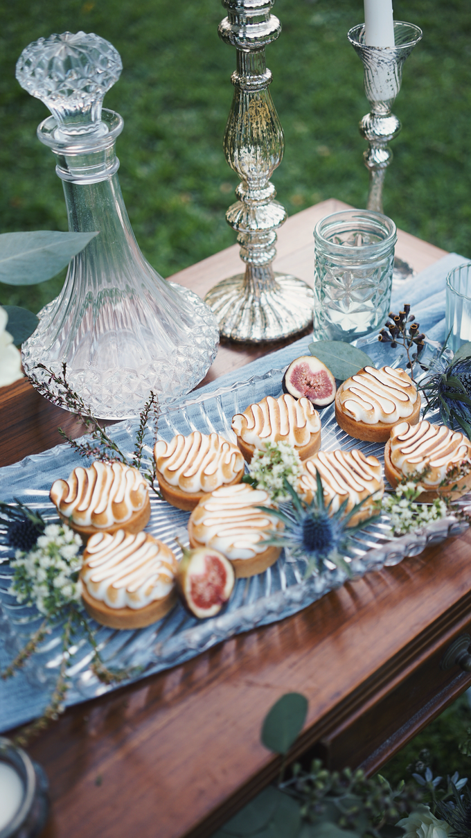 Dusty Blue Vintage by The Dessert Party - 004