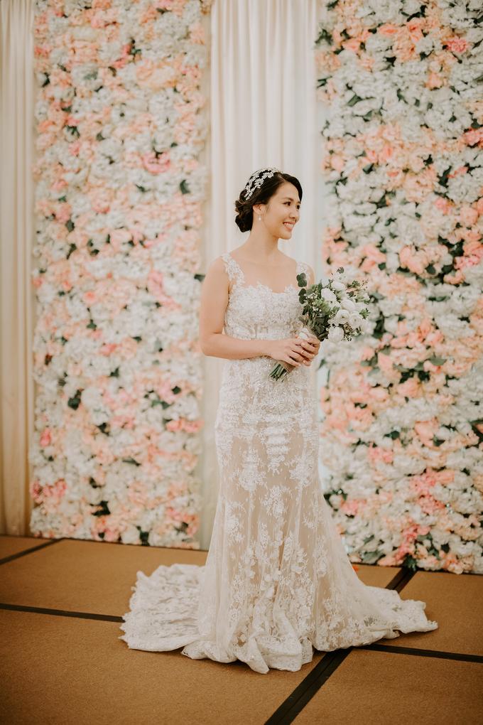 Siaw Fun's wedding by The Glow BeautyBar - 001