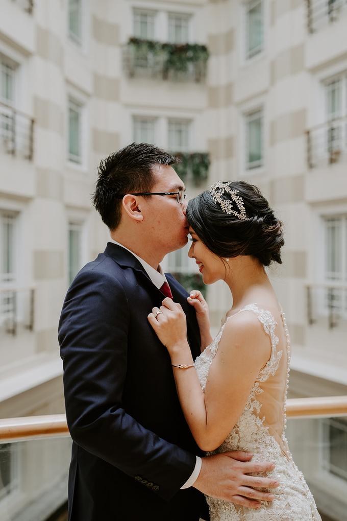 Siaw Fun's wedding by The Glow BeautyBar - 003