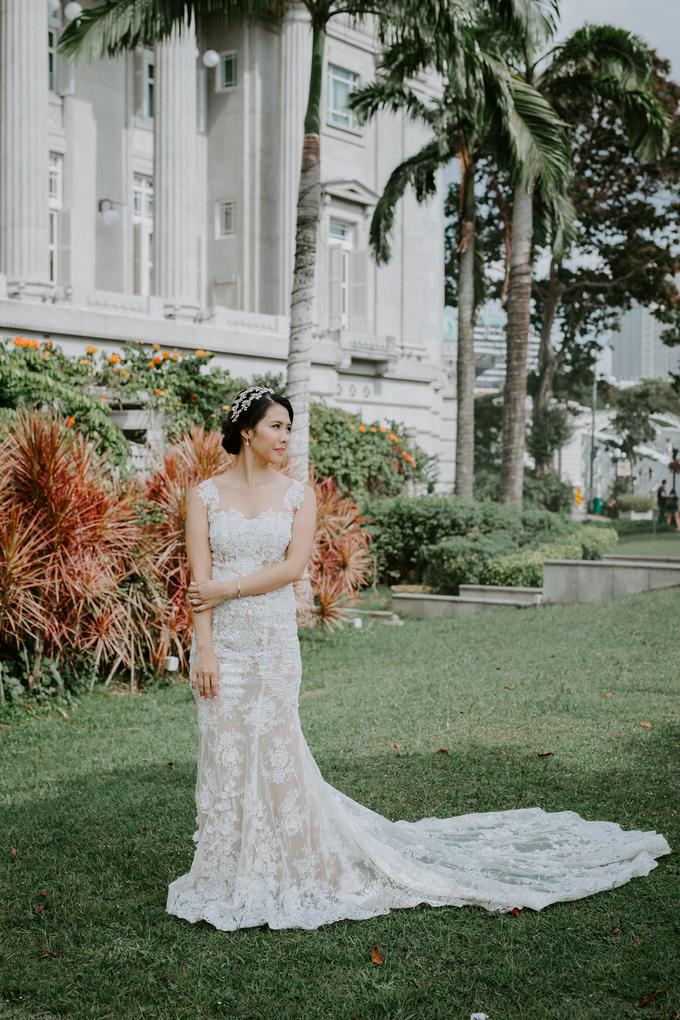 Siaw Fun's wedding by The Glow BeautyBar - 005