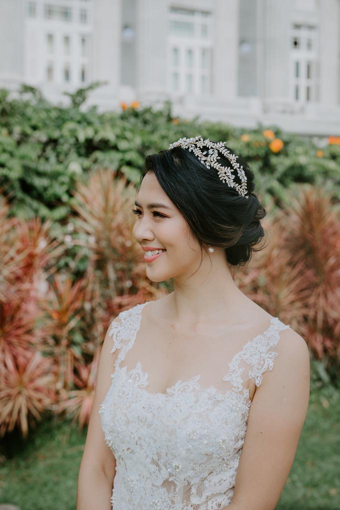 Siaw Fun's wedding by The Glow BeautyBar - 006