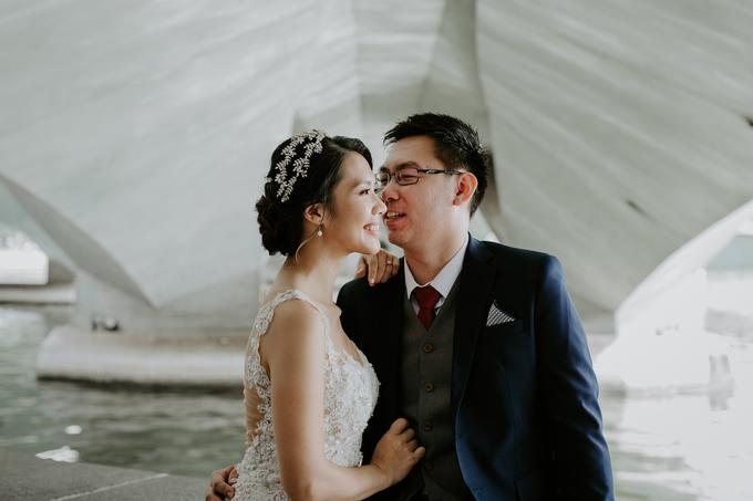 Siaw Fun's wedding by The Glow BeautyBar - 009