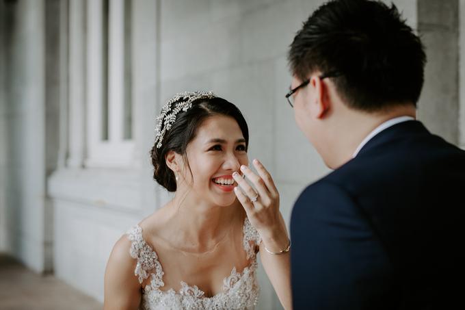 Siaw Fun's wedding by The Glow BeautyBar - 012