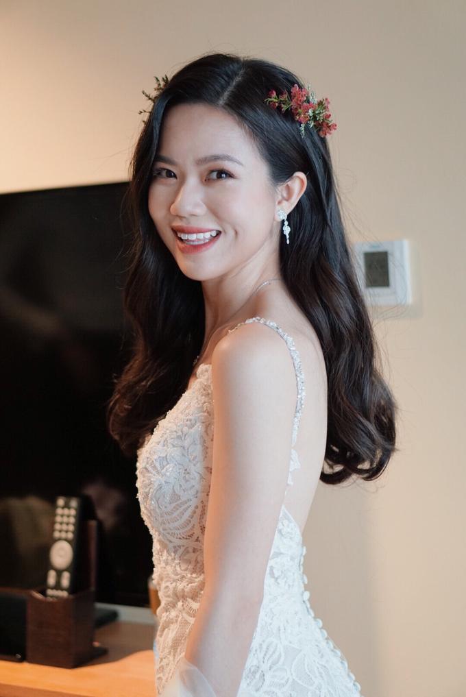 Amanda's wedding by The Glow BeautyBar - 002