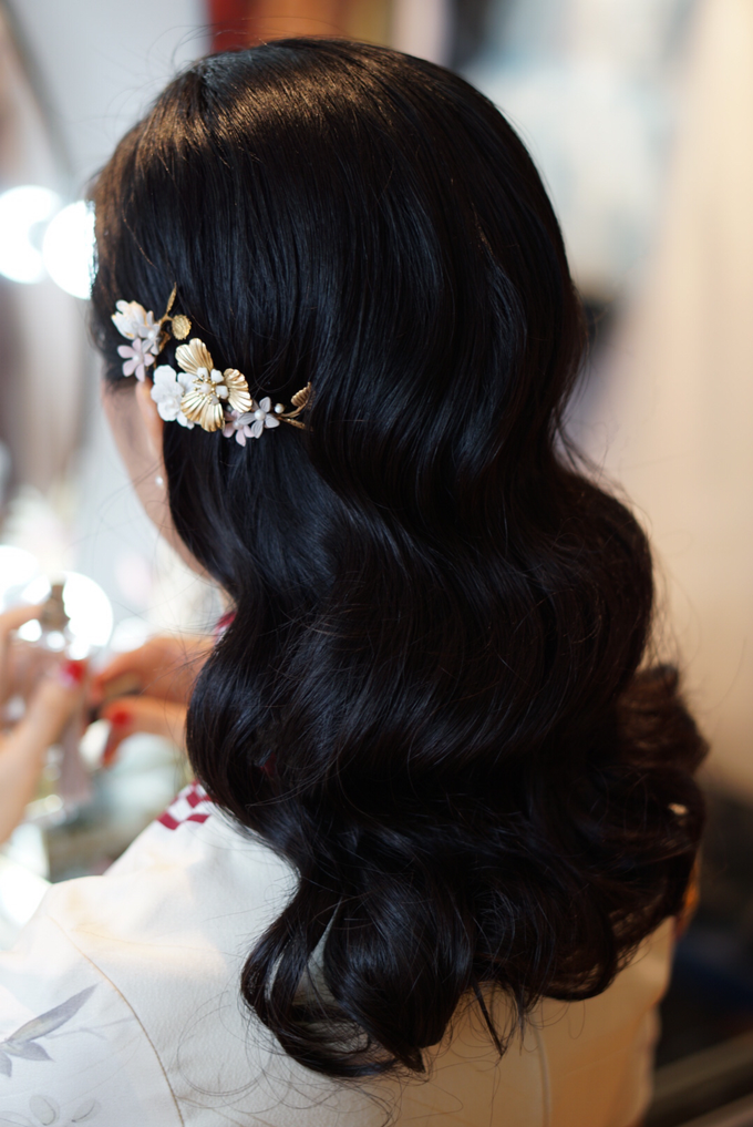 Lin Tong's vintage wedding by The Glow BeautyBar - 001