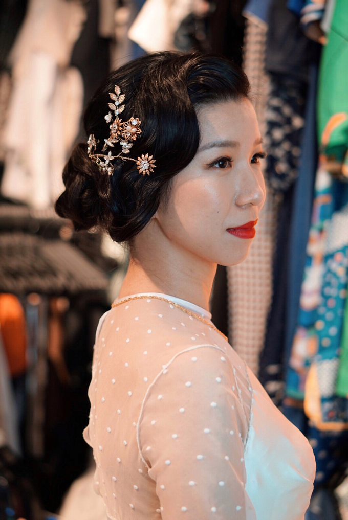 Lin Tong's vintage wedding by The Glow BeautyBar - 002