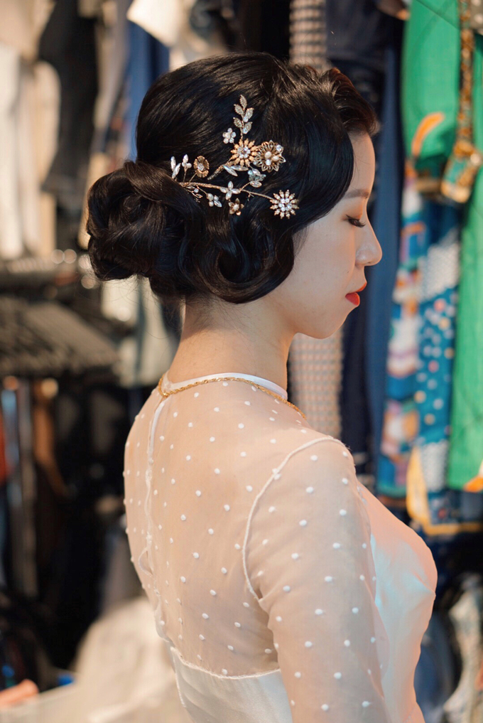 Lin Tong's vintage wedding by The Glow BeautyBar - 003