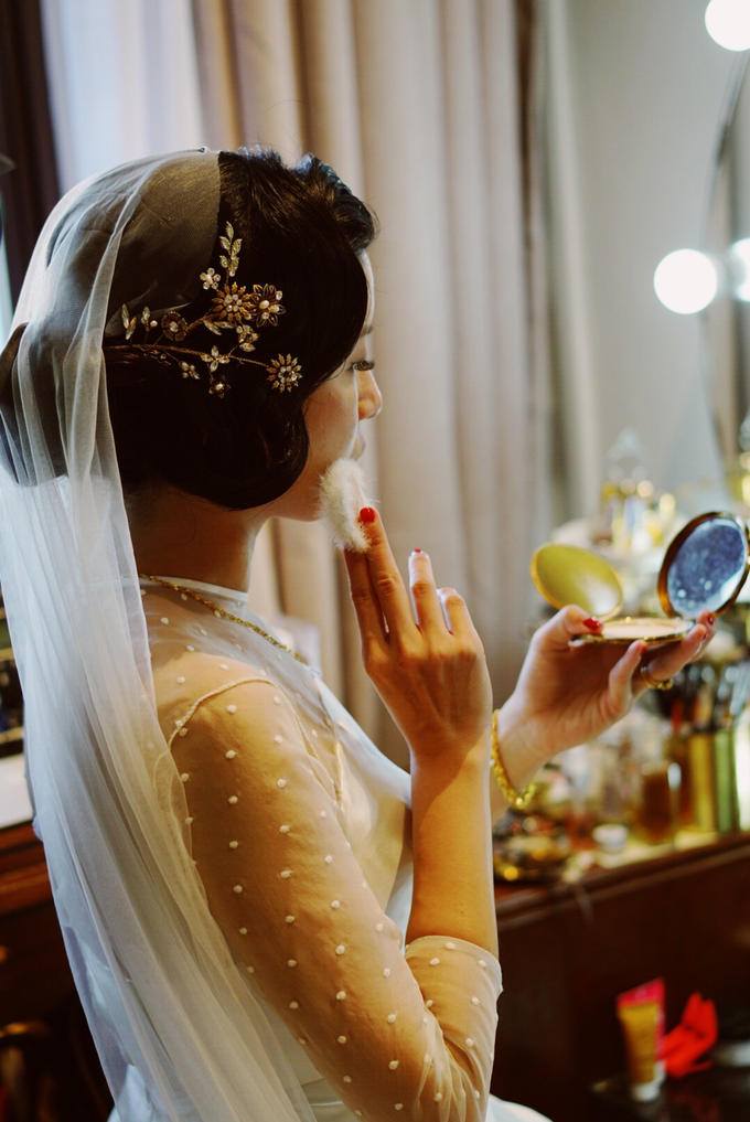 Lin Tong's vintage wedding by The Glow BeautyBar - 005
