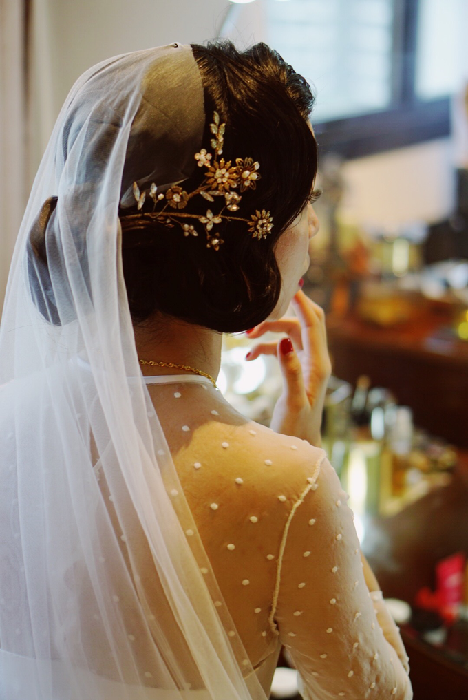 Lin Tong's vintage wedding by The Glow BeautyBar - 004