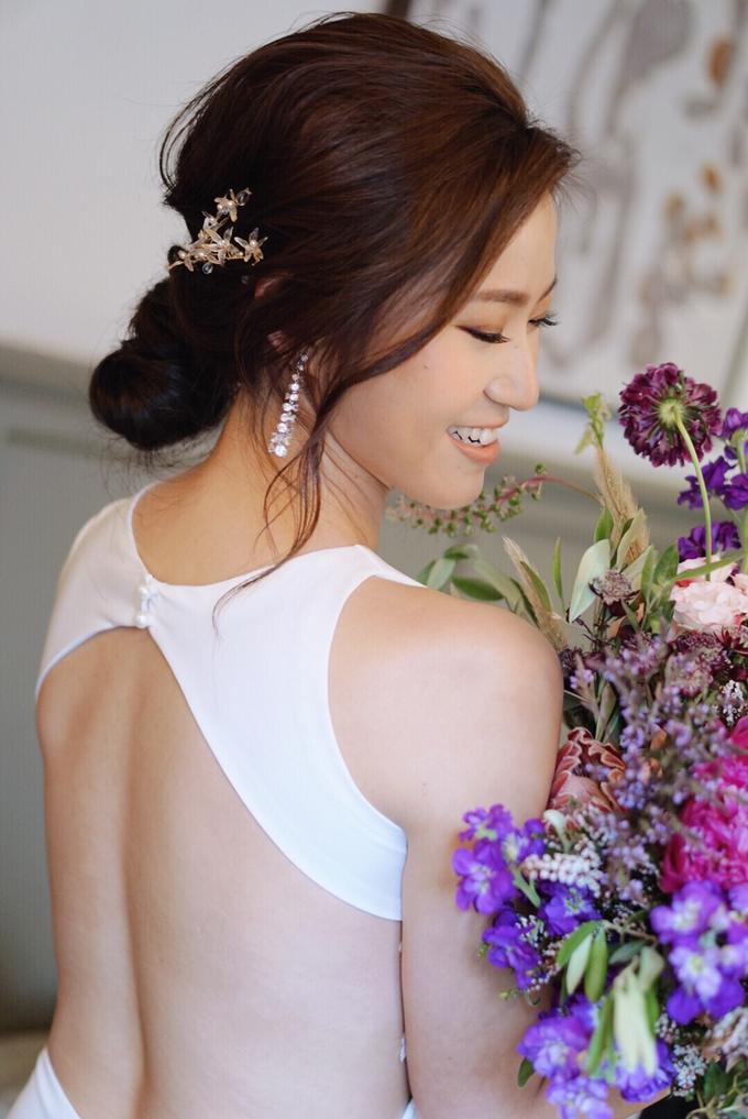 Joy's wedding by The Glow BeautyBar - 001