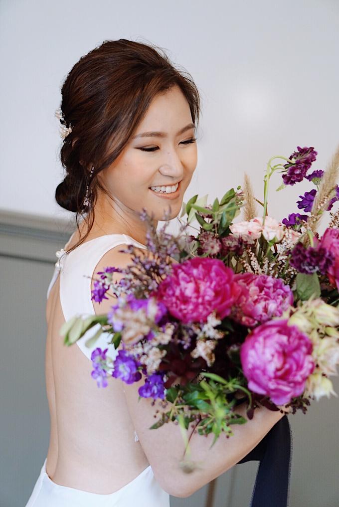 Joy's wedding by The Glow BeautyBar - 002