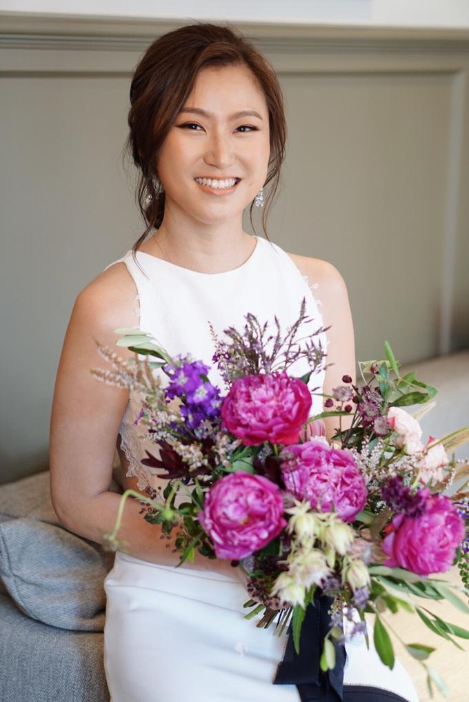Joy's wedding by The Glow BeautyBar - 005