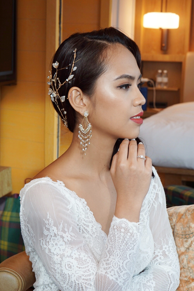 Min Hui's wedding by The Glow BeautyBar - 003