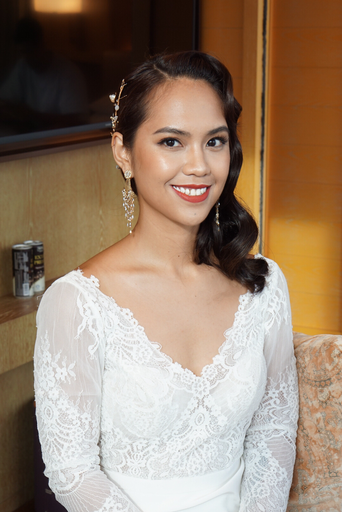 Min Hui's wedding by The Glow BeautyBar - 002