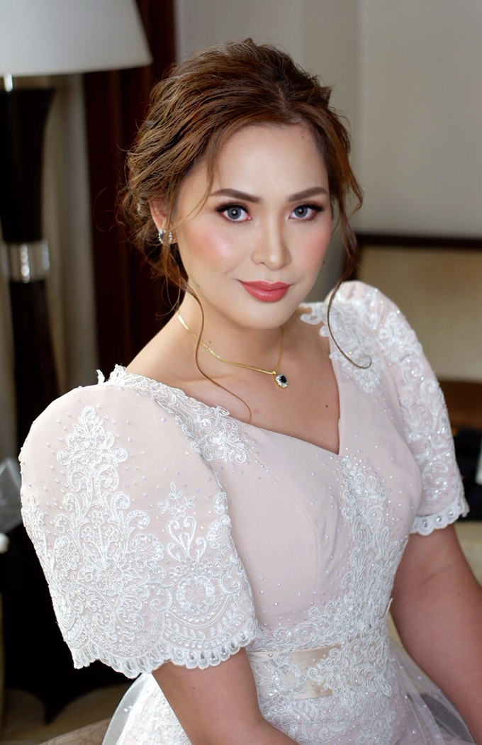 Bridal works (Prep - Ceremony - Reception look) by The Makeup Studio by Rouchelle Battad - 005