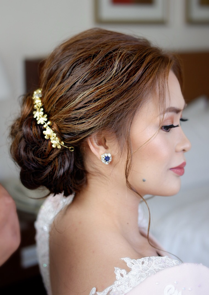 Bridal works (Prep - Ceremony - Reception look) by The Makeup Studio by Rouchelle Battad - 006