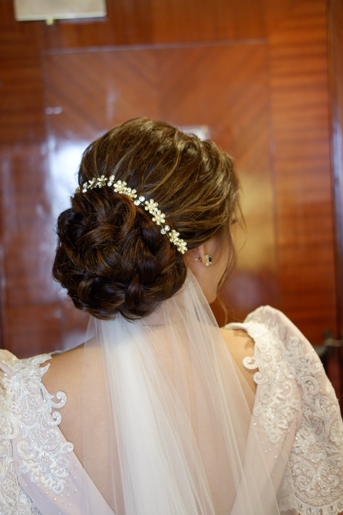 Bridal works (Prep - Ceremony - Reception look) by The Makeup Studio by Rouchelle Battad - 007