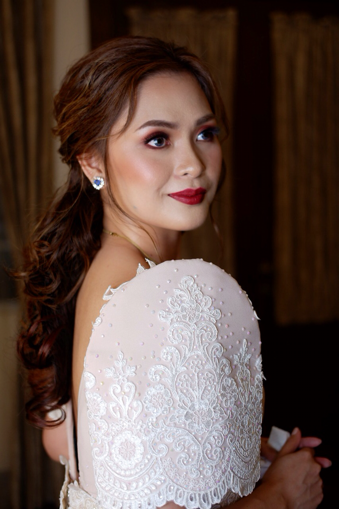 Bridal works (Prep - Ceremony - Reception look) by The Makeup Studio by Rouchelle Battad - 008