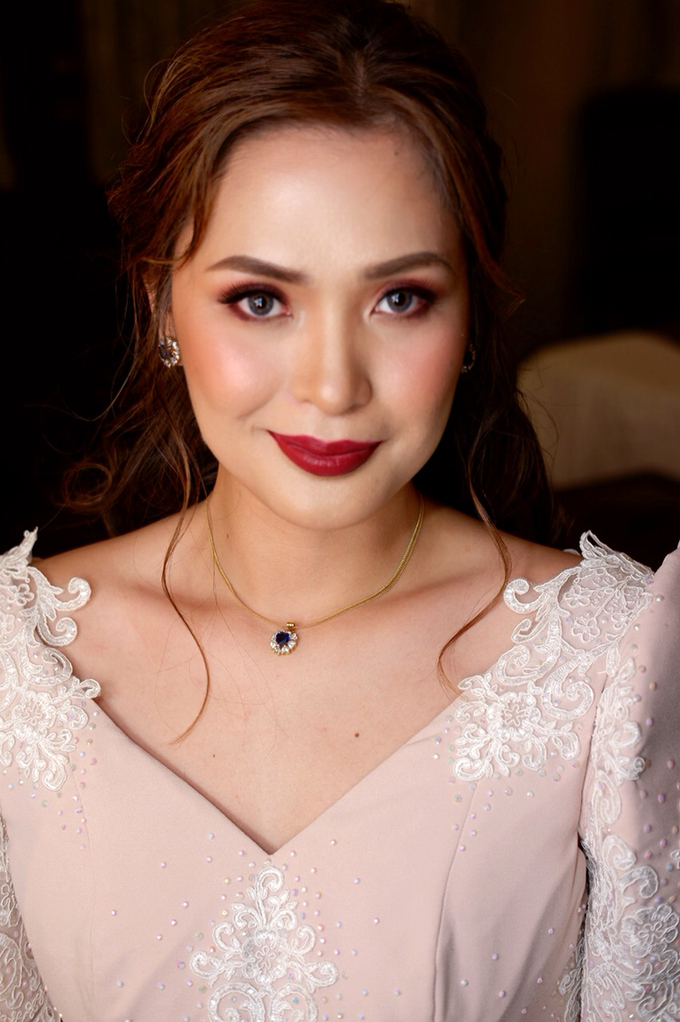 Bridal works (Prep - Ceremony - Reception look) by The Makeup Studio by Rouchelle Battad - 009