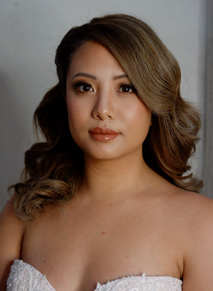 Glowy and bronzy bride by The Makeup Studio by Rouchelle Battad - 004