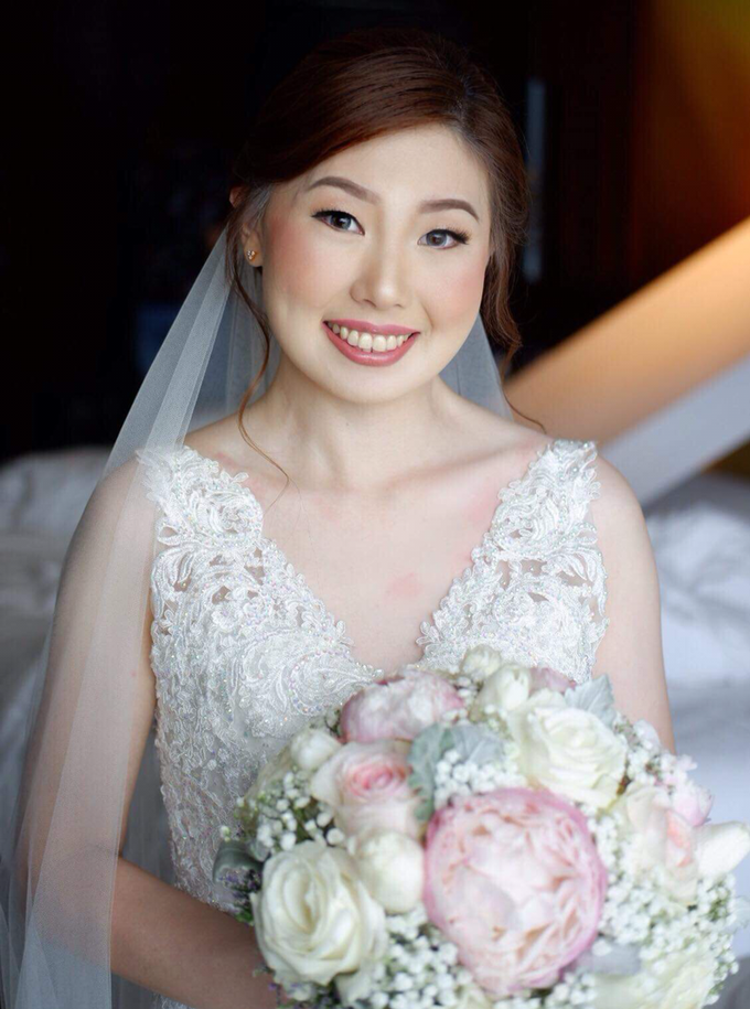 Chinese bride sample by The Makeup Studio by Rouchelle Battad - 004