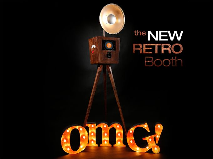 Retro Booth by OMG! Photo Booth - 001