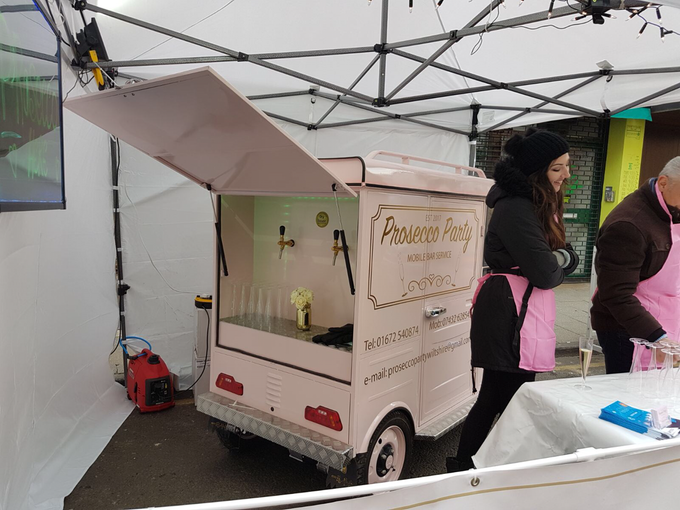 mobile prosecco bar wiltshire by The Prosecco Party - 002