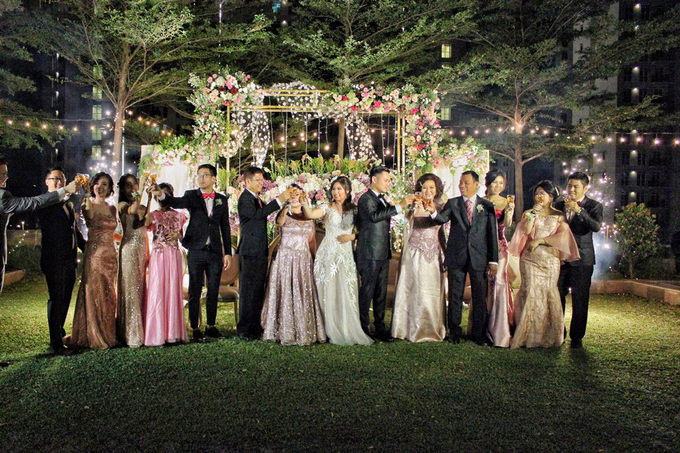 Sky Garden at Gedung OT (Kevin & Jessica Wedding) by The Red Carpet Entertainment - 006