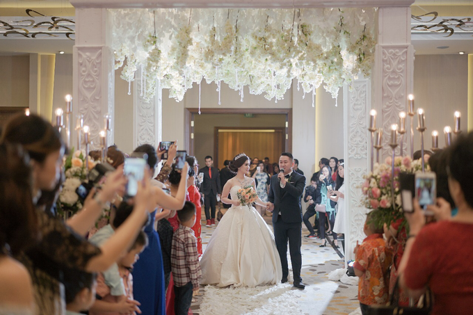 Handoko & Santi wedding  by Pullman Jakarta Indonesia - 005