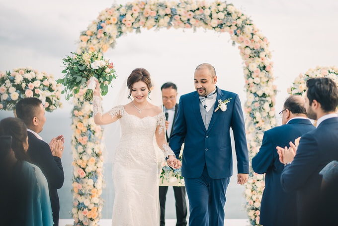 The Wedding of Prasad & Lia by d'Oasis Florist & Decoration - 013
